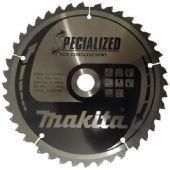 Makita 165x20mm TCT Cordless Circular Saw Blade - 40 Teeth (B-09232)